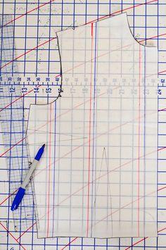 Good tute for pattern grading
