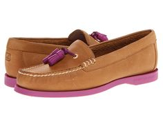 Sperry Top-Sider Eden Peanut Leather/Berry - Zappos.com Free Shipping BOTH Ways