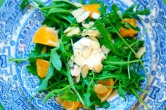 Intrinsic Beauty : Healthy Recipes: Clementine Arugula Salad with Goat Cheese, Golden Raisins & Lavender Honey Vinaigrette