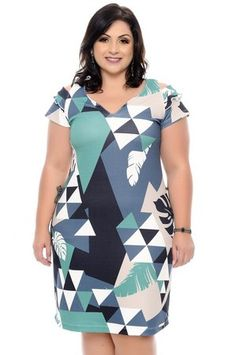 Vestido Plus Size Emelin African Dresses For Women, African Fashion Dresses, Fashion Outfits, Womens Fashion, Vestidos Plus Size, Plus Size Gowns, Curvy Girl Outfits, Curvy Girl Fashion, Plus Size Summer Outfit