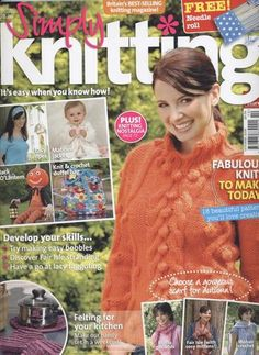 Ravelry: Simply Knitting 20, October 2006