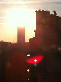 rooftop sunlight