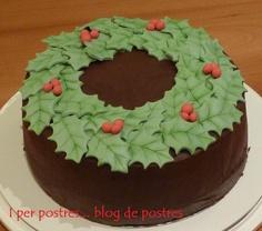 I per Postres... Blog de Postres: Pastís de Xocolata i Taronja