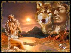 Indian/Wolf Spirit