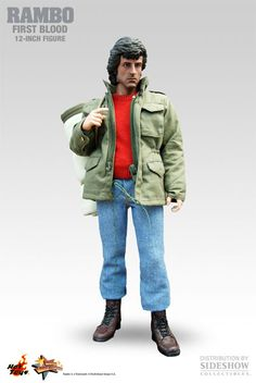 Rambo - First Blood Sixth Scale Figure by Hot Toys  Limited Edition