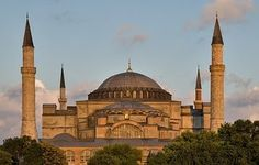 Hagia Sophia, Istanbul Can't wait to see this. Hagia Sophia Istanbul, Sainte Sophie, Byzantine Architecture, Renaissance Architecture, Ancient Architecture, Turkey Images, Place Of Worship, Istanbul Turkey, Beautiful Buildings