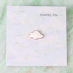 pins&patches Cloud Enamel Pin The fashion world, however, rarely cares for the name of a university Bag Pins, Little Presents, Jacket Pins, Cool Pins, Metal Pins, Pin And Patches, Stickers, Pin Badges, Lapel Pins