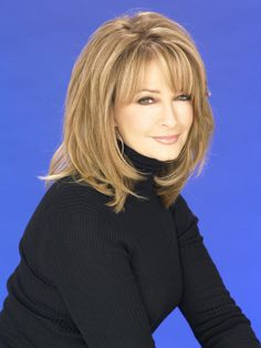 Deidre Hall as Dr. Marlena Evans on Days of Our Lives.  Glad they just brought her character back and that she is supporting her grandson Will coming out of the closet.