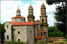 Monasterio de Santa María de #Sobrado dos moxes, en Coruña. Fundado en el año 952 por el conde Hermenegildo Aloitez y su esposa la condesa Paterna.
