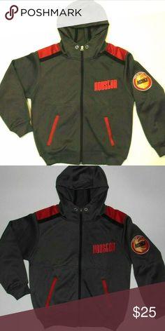 7d7b109cd12 NBA Houston Rockets Hardwood Jacket Coat Youth Houston Rockets Hardwood  Classics Jacket Coat HOODIE Youth Size