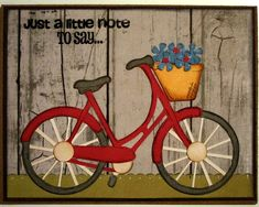 It's time for a new Die Cuttin' Divas challenge . This week we celebrate National Bike week. That means thedesignteam is asking everyon...