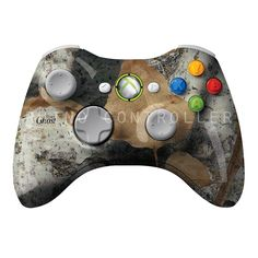 XBOX 360 controller Wireless Glossy Custom Painted- Without Mods Xbox 360 Controller, Custom Paint, River, Rivers