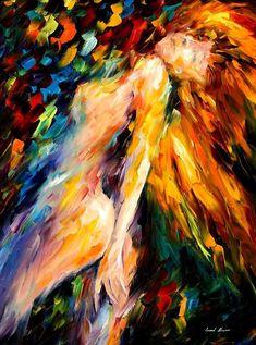 Bias — PALETTE KNIFE Oil Painting On Canvas By Leonid Afremov #AfremovArtStudio #afremov #art #painting #fineart
