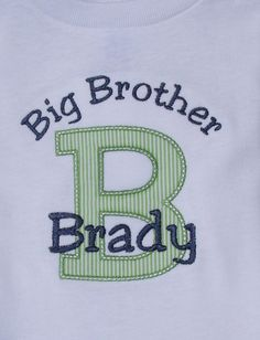 77130b98ebc Items similar to Personalized Big or Little Brother Sister Short Sleeve  T-Shirt or Bodysuit on Etsy