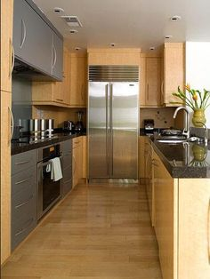 1000 images about galley kitchen on pinterest galley for Two way galley kitchen designs