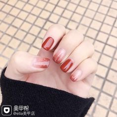 Pin by Hazel Tan on Nails trong 2020 Stylish Nails, Trendy Nails, Print No Instagram, Asian Nails, Korean Nail Art, Kawaii Nails, Feet Nails, Minimalist Nails, Dream Nails