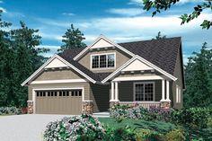 Godfrey House Plan - 2432 | House Plans | Pinterest | Craftsman, A ...