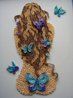 quilling woman - Bing Images