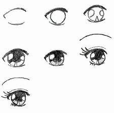 Résultats de recherche d'images pour «dessin facile a reproduire par etape manga»