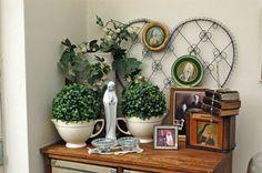 Binnenkijken bij Lia van de Wal; ook groen in de kamer van Lia