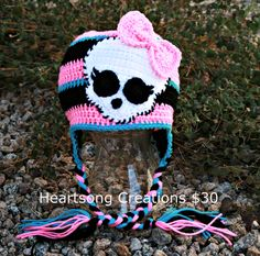 Crochet Monster High Hat $30