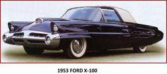 """O primeiro """"carro dos sonhos"""" da Ford serviu como um precursor dos designs da Ford nos anos 1960 e introduziu novos conceitos de tecnologias automotivas, como o sensor de umidade que automaticamente fecharia o capô se começasse a chover."""
