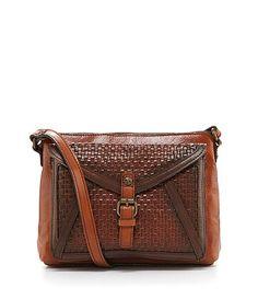 Patricia Nash Avellino Woven Cross-Body Bag