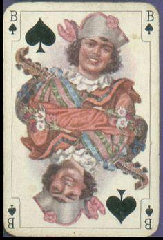 Игральные карты в стиле рококо (австрийский вариант). Фабрика Piantik(Австрия) 1925г
