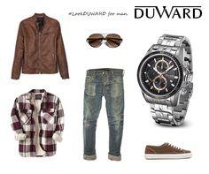#LookDuward para #hombre: Como es jueves y parece que el buen tiempo comienza a asomarse, apostamos por un look casual pero siempre a la moda complementado con nuestro nuevo reloj #DUWARD Aquastar.