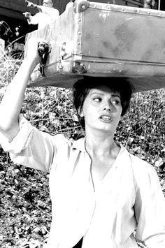 Sophia Loren in La Ciociara (Two Women), 1960. Directed byVittorio De Sica Produced byCarlo Ponti Written byVittorio De Sica Cesare Zavattini Alberto Moravia (novel) StarringSophia Loren Jean-Paul Belmondo Eleonora Brown Carlo Ninchi