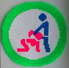 HAMA Perler Blow Job Sign