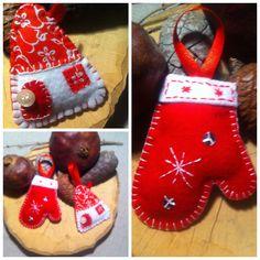 Felt Christmas Stockings, Christmas Ornaments, Felt, Holiday Decor, Home Decor, Needlepoint Christmas Stockings, Felting, Decoration Home, Room Decor