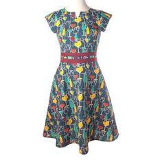Modcloth Toast To The Coast Dress Size Medium
