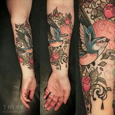 @vonthink #neotrad #birdstattoo #birdsofinstagram #tattoo #tattoolife #tattoosofinstagram #tattooartist #tattooart #tattoopage