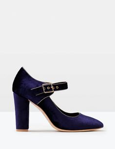 Velvet Mary Jane AR798 Shoes & Boots at Boden