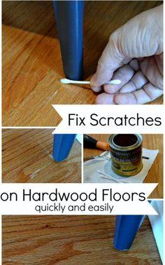 Fix Scratches on Hardwood Floors