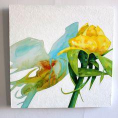 Marjut Siro, Seepia 2015, akryyli kankaalle 60 cm x 60 cm Rose Buds, Paintings, Art, Art Background, Paint, Painting Art, Kunst, Performing Arts, Painting