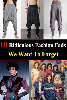 10 Ridiculous Fashion Fads We Want To Forget Fashion 2018, Daily Fashion, Fashion Beauty, Women's Fashion, Celebrity Fashion Looks, Celebrity Style, All About Fashion, Latest Fashion For Women, Crazy Outfits
