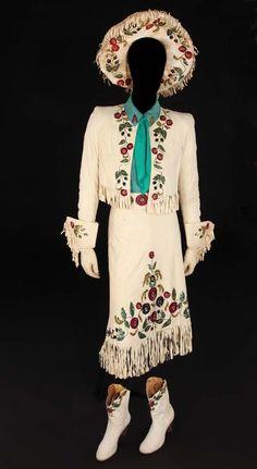 """Betty Hutton """"Annie Oakley"""" complete 10-piece Wild West Show costume from Annie Get Your Gun"""