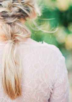 Photography: Sally Pinera - http://www.stylemepretty.com/portfolio/sally-pinera Hair And Makeup: MUAH Makeup And Hair - instagram.com/muahmakeupandhair   Read More on SMP: http://www.stylemepretty.com/2015/10/20/holman-ranch-fall-wedding-inspiration/
