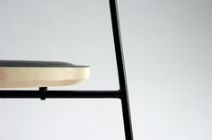 Details w elike / Chair / Frame / Seat / Black / at Ode to Things