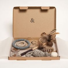 The Cat Box - Premium Box of Toys for Cats from Tux & Tabby