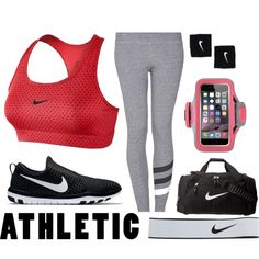 Sport by catarinahoran21 on Polyvore featuring polyvore, fashion, style, NIKE, Sundry, Belkin and clothing