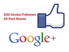 add GooglePlus Profile or Page Circles Followers and Post Shares by zanamil