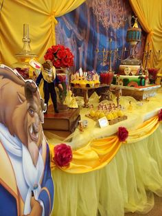 Beauty and the Beast Birthday Party Ideas | Photo 44 of 60 | Catch My Party