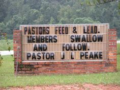 I think that someone needs to run a background check on Pastor Peake. Church Sign Sayings, Funny Church Signs, Church Humor, Funny Signs, Hilarious Sayings, Hilarious Animals, 9gag Funny, Funny Animal, Atheist Quotes