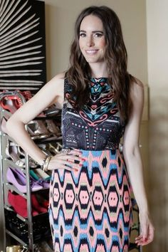 such a cute and colorful dress on #fashionstar ...