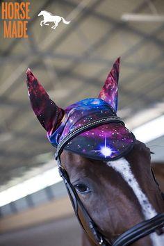 HORSE EAR NETS full size GALAXSY print