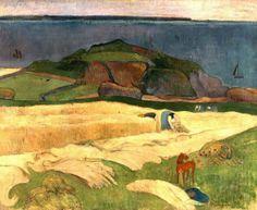 PAUL GAUGUIN - Seaside harvest (1890)