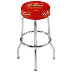 budweiser swivel bar stool more lights bar s mores bar s more bar. Black Bedroom Furniture Sets. Home Design Ideas